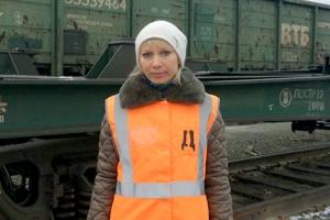 Технолога станции Каменск-Уральский Галину Мезенцеву признали лучшим общественным инспектором в области. Она предотвратила несколько ЧП