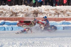 Главная звезда мотокоманды из Каменска-Уральского получила травму на домашнем этапе чемпионата России. Фотоподробности ЧП