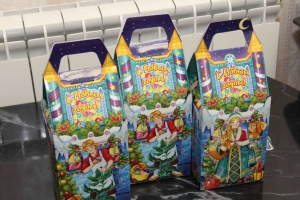 Больше полутора тысяч подарков подготовила администрация Каменска-Уральского для детей из малообеспеченных семей
