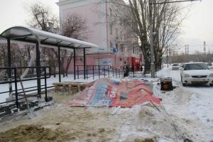Новый остановочный комплекс на улице Алюминиевая в Каменске-Уральском должен открыться к 15 декабря