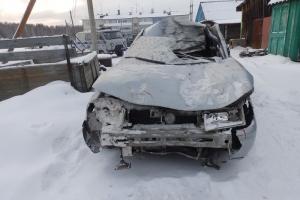 В воскресенье утром под Каменском-Уральским водитель ВАЗа сбил лошадь