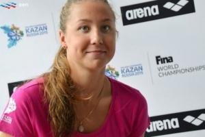 Дарья Устинова из Каменска-Уральского уверенно выиграла золото чемпионата России по плаванию