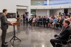 Глава региона наградил государственными наградами работников Синарского трубного завода из Каменска-Уральского