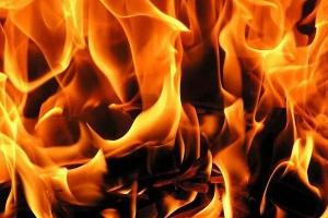 В селе Пирогово под Каменском-Уральским во время пожара погиб 62-летний мужчина