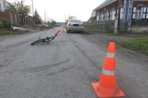 На окраине Каменска-Уральского в ДТП пострадала 7-летняя велосипедистка