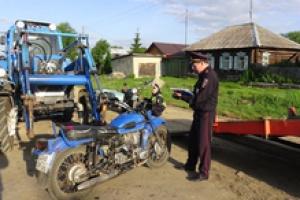 Сегодня под Каменском-Уральским один студент из Екатеринбурга на мотоцикле сбил другого студента из столицы Урала