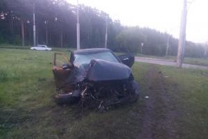 В ночь на пятницу в Каменске-Уральском в ДТП пострадали два человека