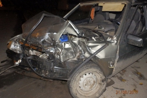 20 августа вечером в Каменске-Уральском в ДТП пострадали два водителя