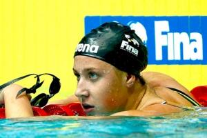 Восемь сотых секунды не хватило сборной России, чтобы уроженка Каменска-Уральского завоевала бронзу чемпионат мира по водным видам спорта