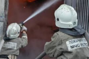 Сегодня утром в Каменске-Уральском произошел пожар в доме на улице 2-я Полевая