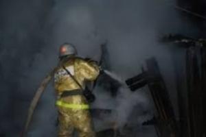 Под Каменском-Уральским опять сгорел жилой дом. На этот раз в Клевакинском