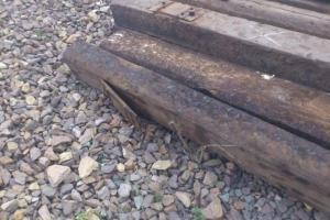 В Каменске-Уральском задержали похитителя железнодорожных шпал