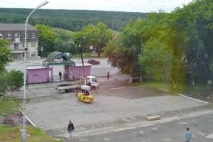 В Каменске-Уральском обновили площадь возле театра драмы