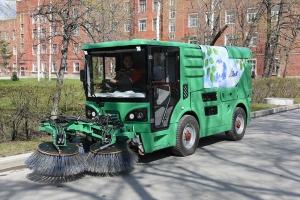 Завод имени Калинина из Екатеринбурга поставит в Каменск-Уральский машину, которая летом будем мыть улицы, а зимой сметать снег