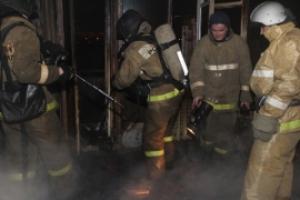 Почти два десятка людей пришлось эвакуировать во время пожара в общежитии на улице Лермонтова в Каменске-Уральском