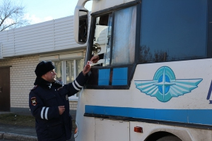 За три недели сотрудники Госавтоинспекции Каменска-Уральского оштрафовали 133 водителя автобусов