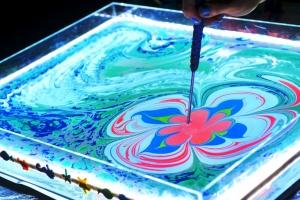 В Каменске-Уральском состоится уникальный мастер класс «Эбру – рисование на воде»