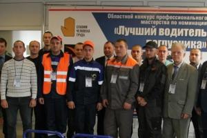 Лучшим водителем погрузчика в Свердловской области стал Сергей Курицын из Каменска-Уральского