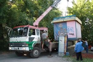 До конца октября в Каменске-Уральском ликвидируют сразу несколько несанкционированных киосков и павильонов