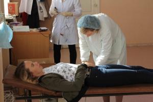 Сегодня в Каменске-Уральском чиновники сдали для горожан 13.5 литра крови
