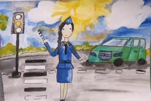 Юные жители Каменска-Уральского смогут принять участие в областном конкурсе «Полиция глазами детей»