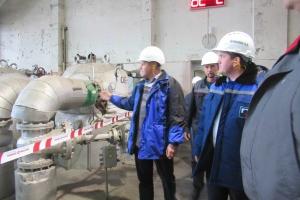 Глава Каменска-Уральского проверил готовность Красногорской ТЭЦ к отопительному сезону