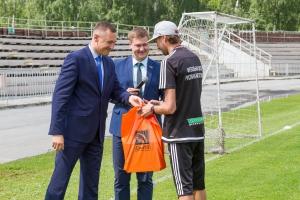 Знаменитый российский вратарь дал мастер-класс для юных футболистов Каменска-Уральского