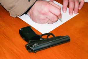 За три дня в Каменске-Уральском завели пять уголовных, связанных с незаконным хранением оружия и боеприпасов