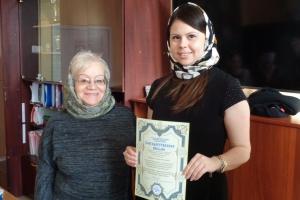 В Каменске-Уральском благодарственные письма от правящаго архиерея получили благотворители епархии