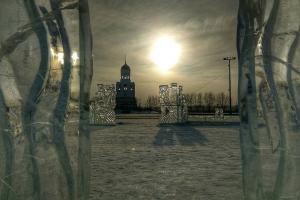 Новогодний городок на площади Ленинского комсомола в Каменске-Уральском будет работать до 29 января
