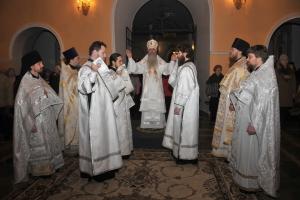 В ночь на 19 января в кафедральном Свято-Троицком соборе епархии состоится архиерейское богослужение