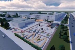 В сети появился необычный проект парка в центре Синарского района Каменска-Уральского