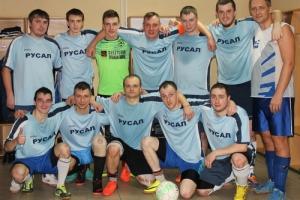 РУСАЛ стал победителем первенства Каменска-Уральского по мини-футболу