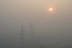 Над Каменском-Уральским опять смог. Он продержится до 19 февраля