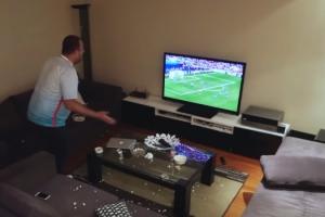 Болельщик из Каменска-Уральского получил травму во время телевизионной трансляции