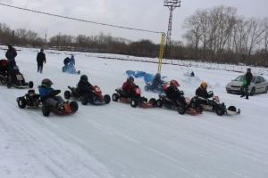 В Каменске-Уральском прошли завершающие зимний сезон соревнования по картингу