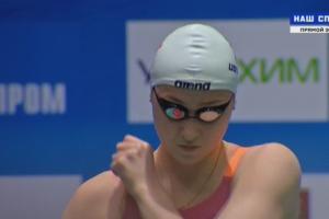 Дарья Устинова из Каменска-Уральского помогла сборной Свердловской области завоевать серебро чемпионата России по плаванию в эстафете