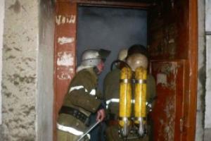 Сегодня в Каменске-Уральском горела дверь квартиры в 5-этажке на проспекте Победы