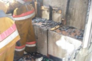 Днем в субботу в Каменске-Уральском произошел пожар в кафе