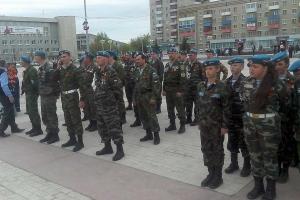 27 апреля в Каменске-Уральском пройдет первая репетиция парада к 9 мая