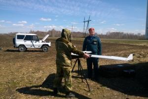 На помощь пожарным Каменска-Уральского и района пришли беспилотники
