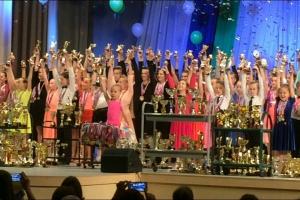 За один сезон коллектив спортивных бальных танцев «Сюрприз» из Каменска-Уральского на различных турнирах завоевал 1652 медалей
