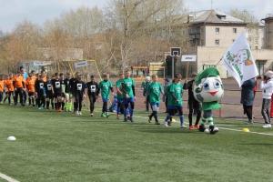 В Каменске-Уральском на стадионе школы № 25 стартовал фестиваль дворового футбола «МЕТРОШКА-2018»
