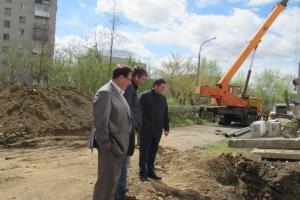 На территории лицея № 10 в Каменске-Уральском готовятся оборудовать новую спортивную площадку