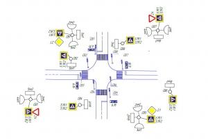 К 20 августа в Каменске-Уральском появятся светофоры на пересечении улиц Парковая и Добролюбова