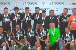 Футбольная «Синара» из Каменска-Уральского завоевала бронзу российского финала Кубка регионов УЕФА