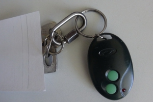 В Каменске-Уральском ищут хозяина ключа от автомобиля, который был потерян пятничного концерта
