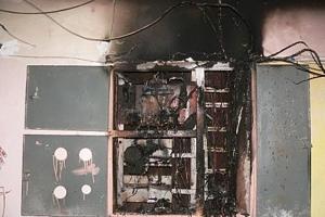 Сегодня ночью из многоквартирного дома на бульваре Комсомольский пришлось эвакуировать семь человек