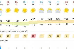 В начале следующей недели жара основательно вернется в Каменск-Уральский, а дождей не будет совсем
