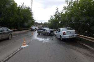 Сегодня утром в Каменске-Уральском произошло ДТП, в котором пострадали два человека